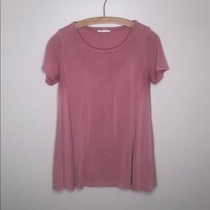 Peach Love Pink Short Sleeve Shirt